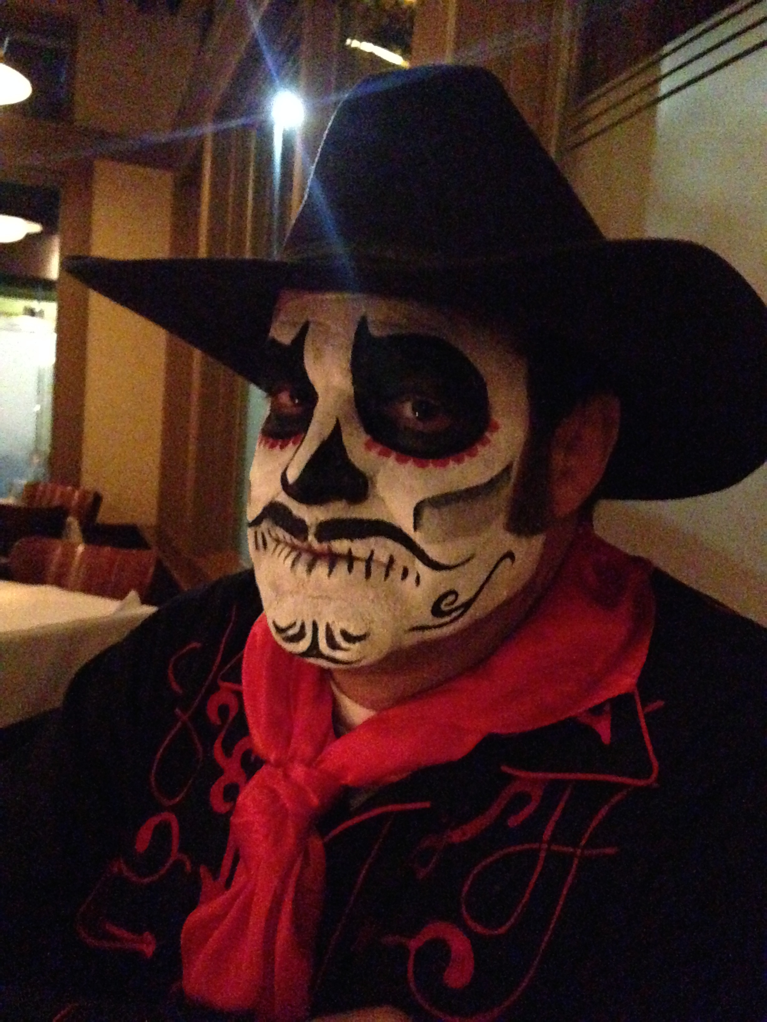 """Raymond's fascination with skulls and the """"Day of the Dead"""" made for easy inspiration..."""