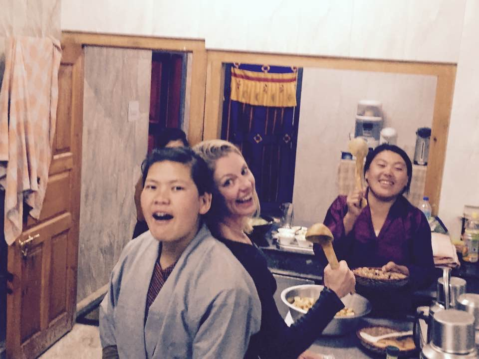 "Cooking it up with ""the girls"" at Risum Lodge in Haa"
