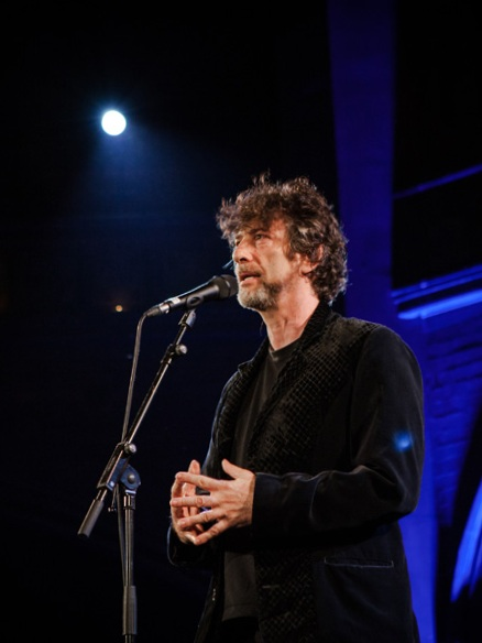 Neil Gaiman speaking on The Moth  I been an avid listener of  The Moth  for years. Today I am honored to be cast in The Moth Mainstage show at the  Wilma Theater  in Missoula next week! So I have been busy workshopping and story-crafting with the Moth's executive producer Sarah Austin Jenness - who's enthusiasm, patience and faith are priceless. Stretching and growing, digging deep…
