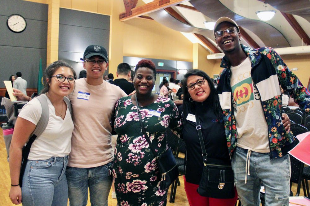 Diversity in Tech attendees connected with local tech employers and young tech professionals.