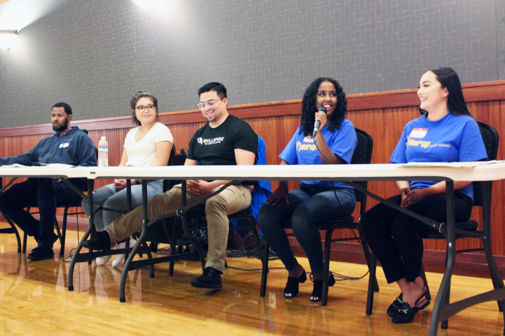 A panel of young tech professionals share how they got started in tech.