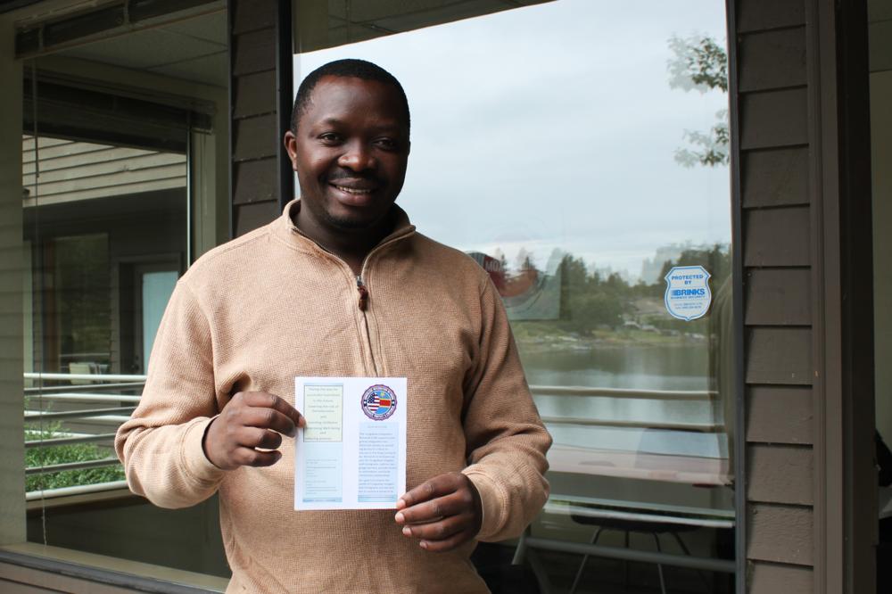 Floribert Mubalama, Founder and Executive Director of Congolese Integration Network