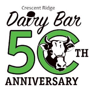 Crescent-ridge-dairy-bar-50th-anniversary-logo
