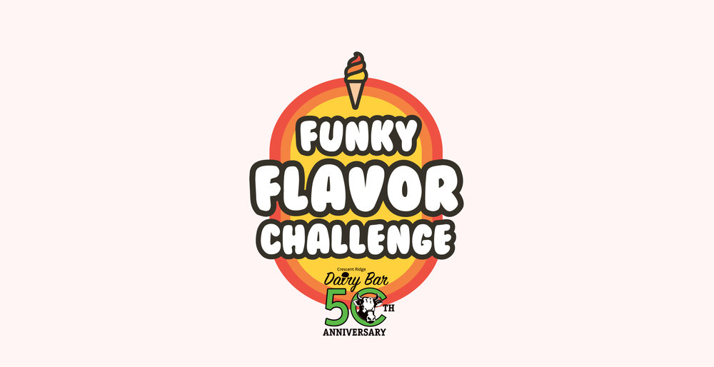 Funky Flavor Challenge - The Funky Flavor Challenge is a competition to create a new Crescent Ridge ice cream flavor. Our Summer Funky Flavor Challenge ends in June (date TBD), so get your guess in now! Who will be named our winner and our funky flavor expert?!