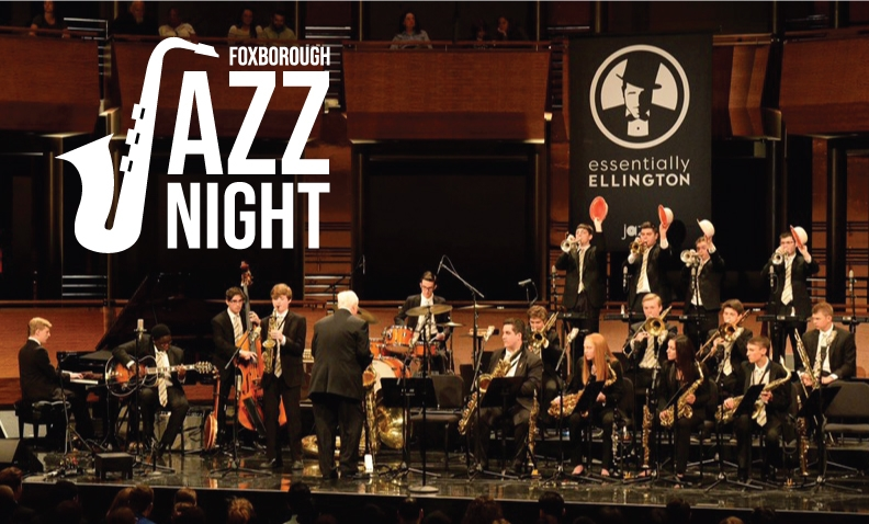 Foxborough HS Jazz Night - All of 2018Foxborough Ensemble will be performing at Crescent Ridge. These kids are talented!