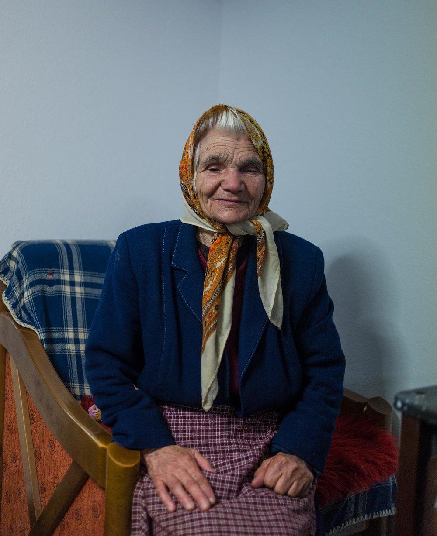 Grandma Zacharoula, the one who got left behind.