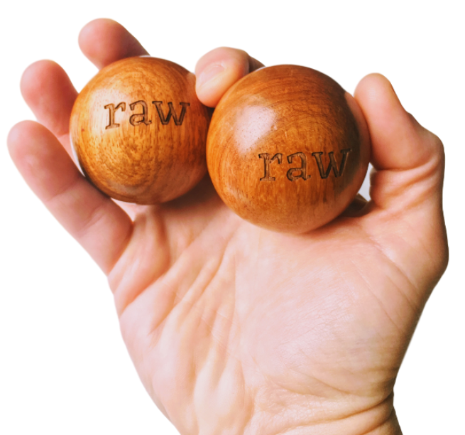 Wood Massage Balls