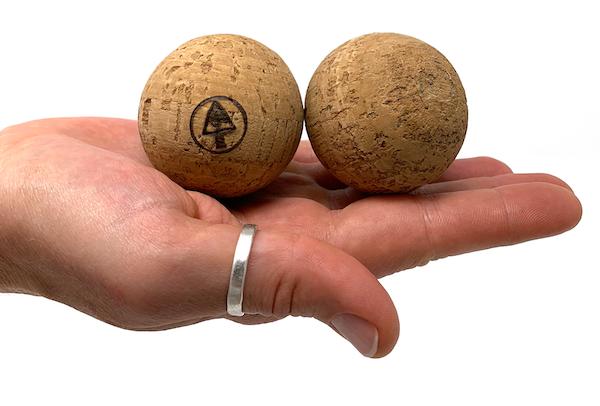 Mini Natural Cork Massage Balls