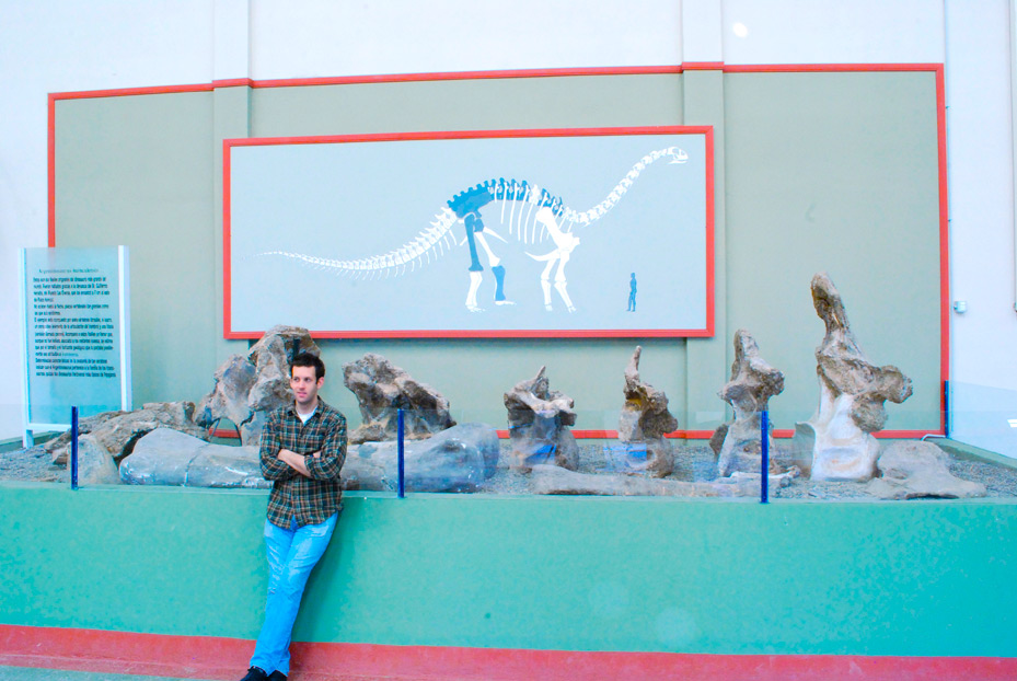 studying the largest known dinosaur in Argentina