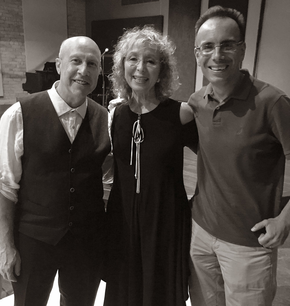 Alex Rybeck, Marilyn Hausfeld and Ted Firth
