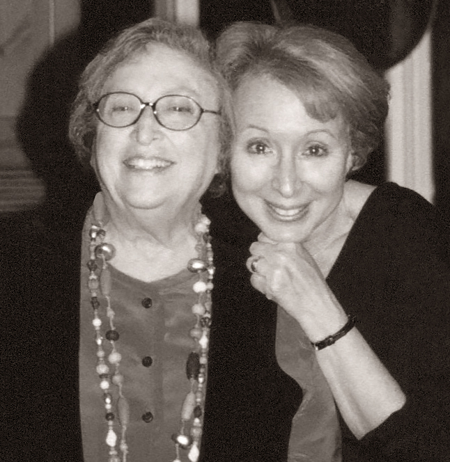 Marilyn (right) with her dear friend, lyricist and composer, Shirley Grossman—the inspiration for  Show and Tell