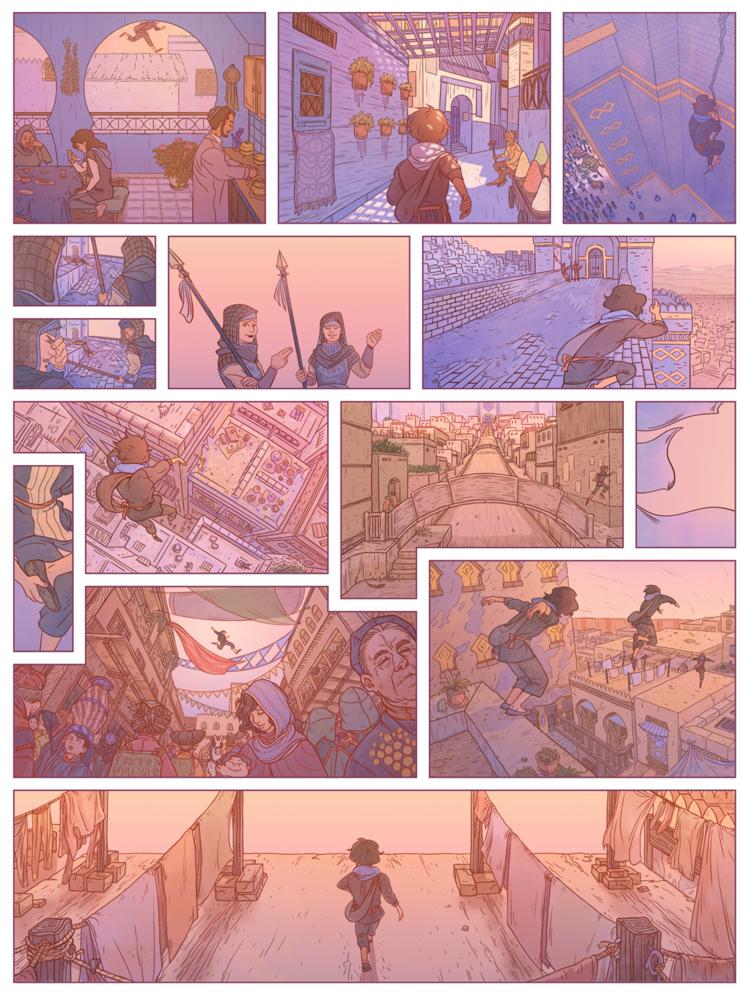Asphodel - Webcomic series.