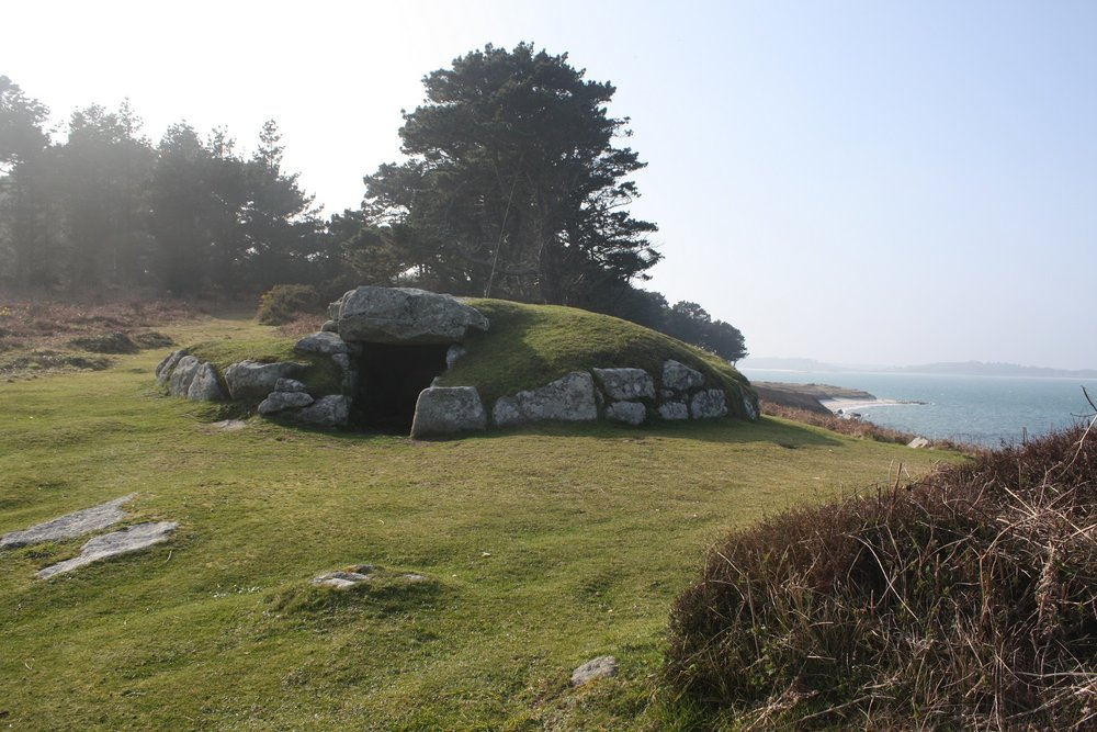 Innisidgen Cairn, Isles of Scilly