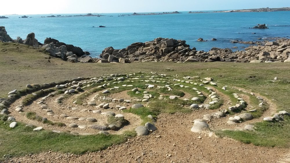 Troy Town Maze, Isles of Scilly