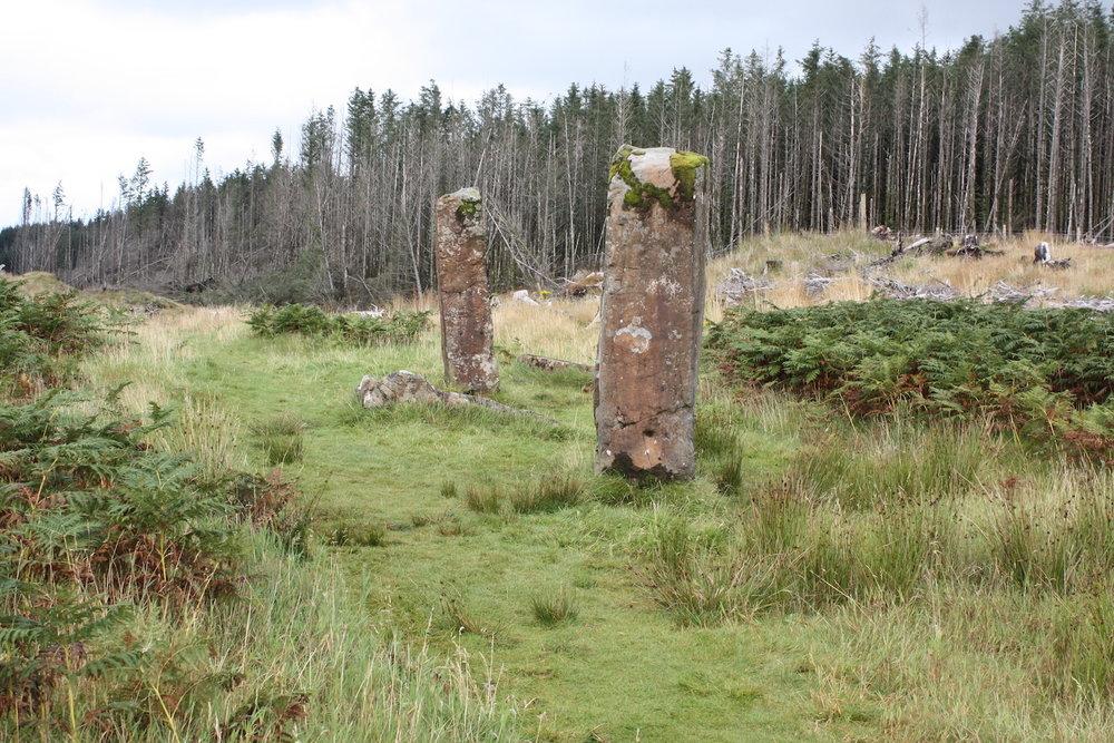 Dervaig Stone Row Scotland