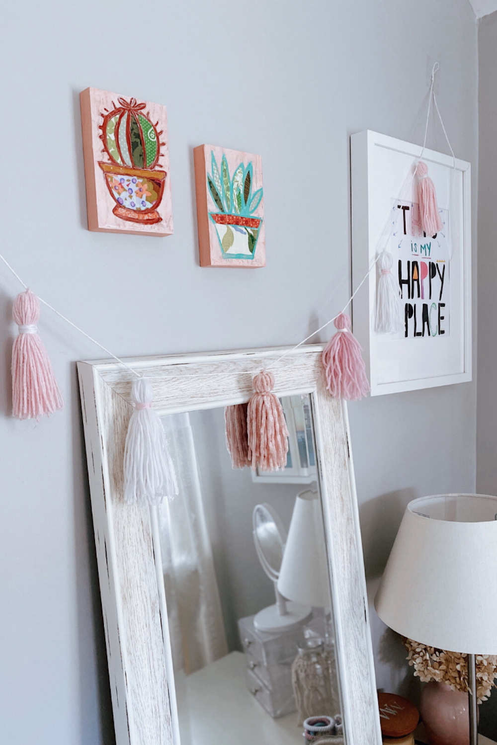 Likehome Easy Valentine S Day Decoration Diy Tassel Banner