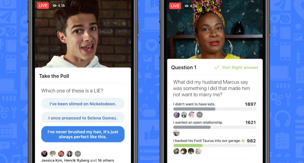 Facebook launches gameshows platform with interactive video - Gameshow launch partners include Fresno's What's In The Box, where viewers guess what's inside, and...- TECHCRUNCH