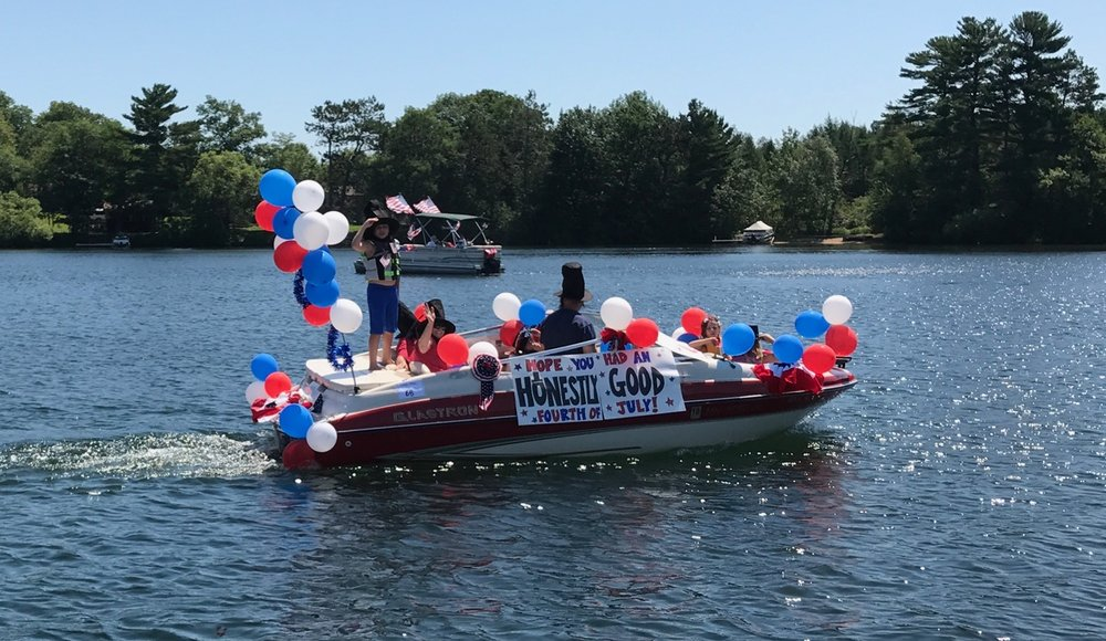 Speedboat – Mann/Gmach – Lot 68  Tribute to Lincoln