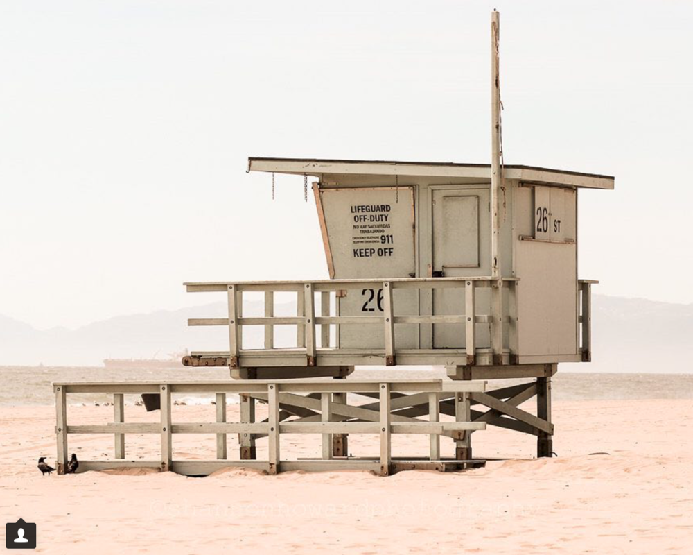 Hermosa Beach Lifeguard Tower
