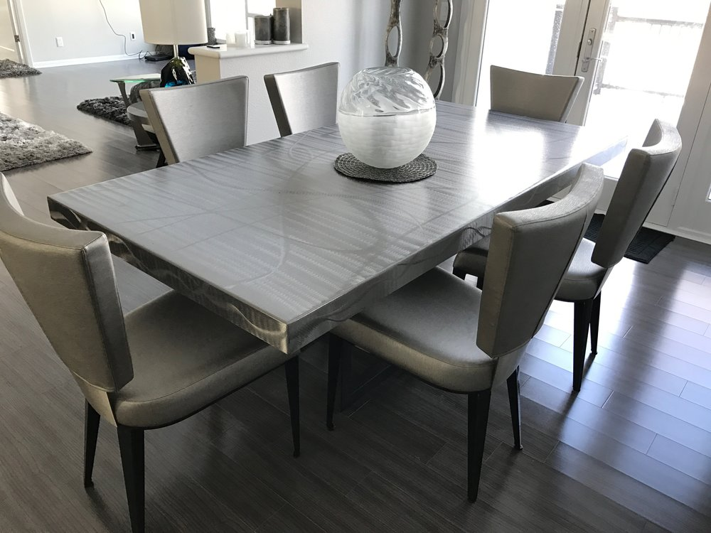 Stainless Dining Table