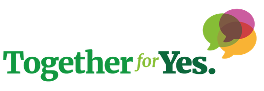 "Image from: togetherforyes.ie | This is the logo for one of the main ""pro-repeal"" movements in Ireland"