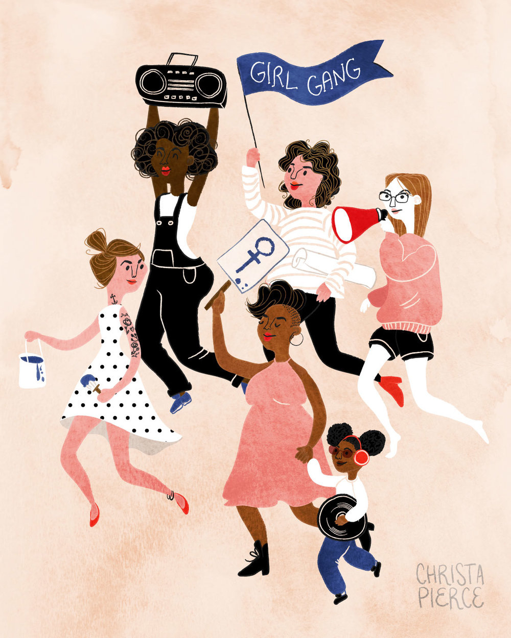 Image: Girl Gang by Christa Pierce