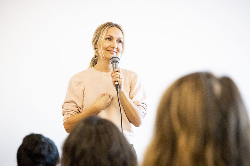 Sadie Lincoln - Sadie Lincoln, co-founder and CEO of Barre 3, spoke about body wisdom and redefining what success in fitness means.