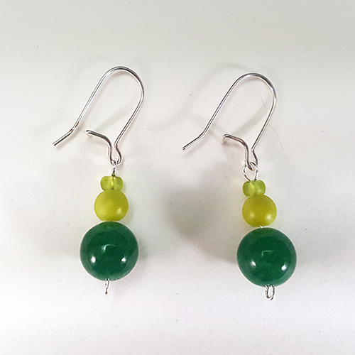 Green Paladin   These protective earrings are inspired by the Green Paladin from Voltron: Legendary Defender!