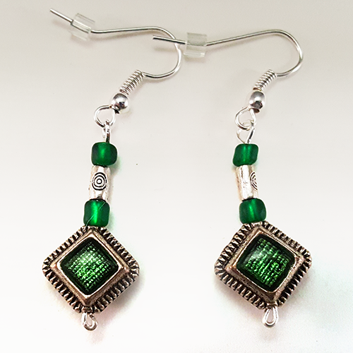 Loki   Keep the god of mischief by your side with these earrings inspired by Loki!