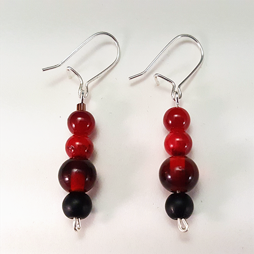 Red Paladin   These fierce earrings are inspired by the Red Paladin from Voltron: Legendary Defender!