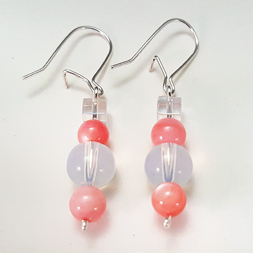Pink Paladin   These commanding earrings are inspired by the Pink Paladin from Voltron: Legendary Defender!