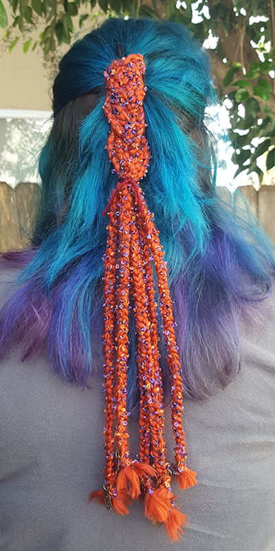 Phoenix   Light your inner fire with this brilliant hair piece.