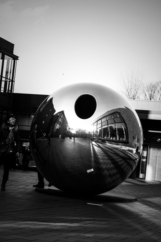 Ueno Art Museum sphere.jpg