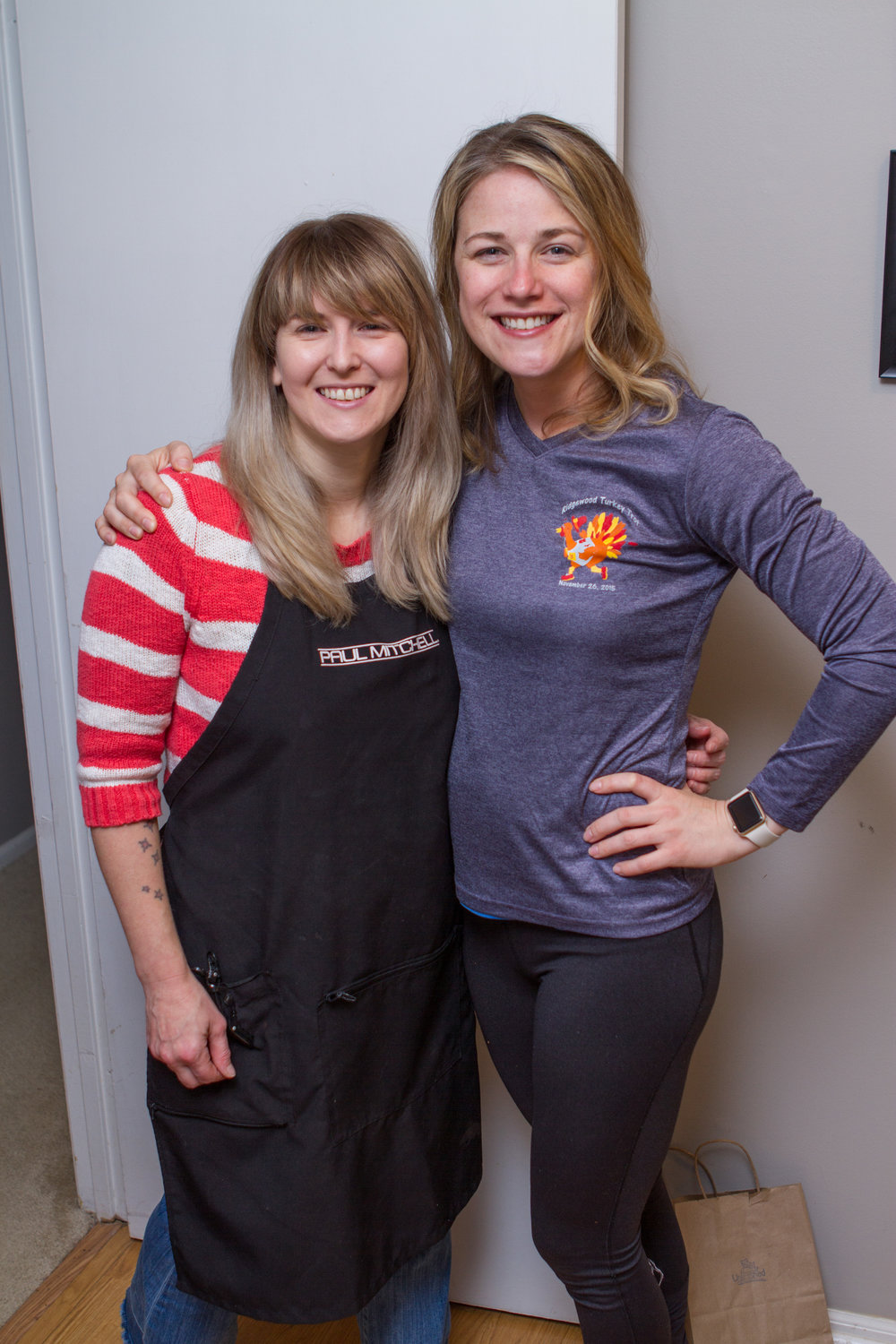 Post blow-out with Heather April 12, 2018!