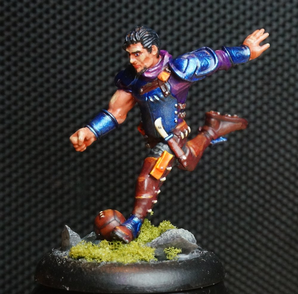 Flint - One of my favorite characters in Guild Ball