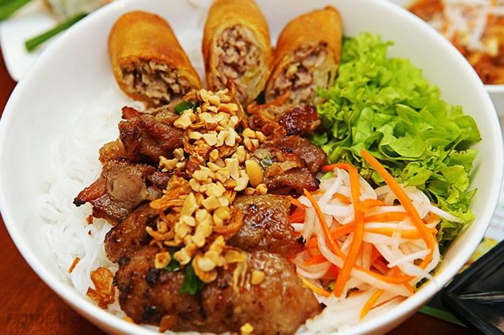 Pork Chop Rice Noodle with Fish Sauce - $8.99