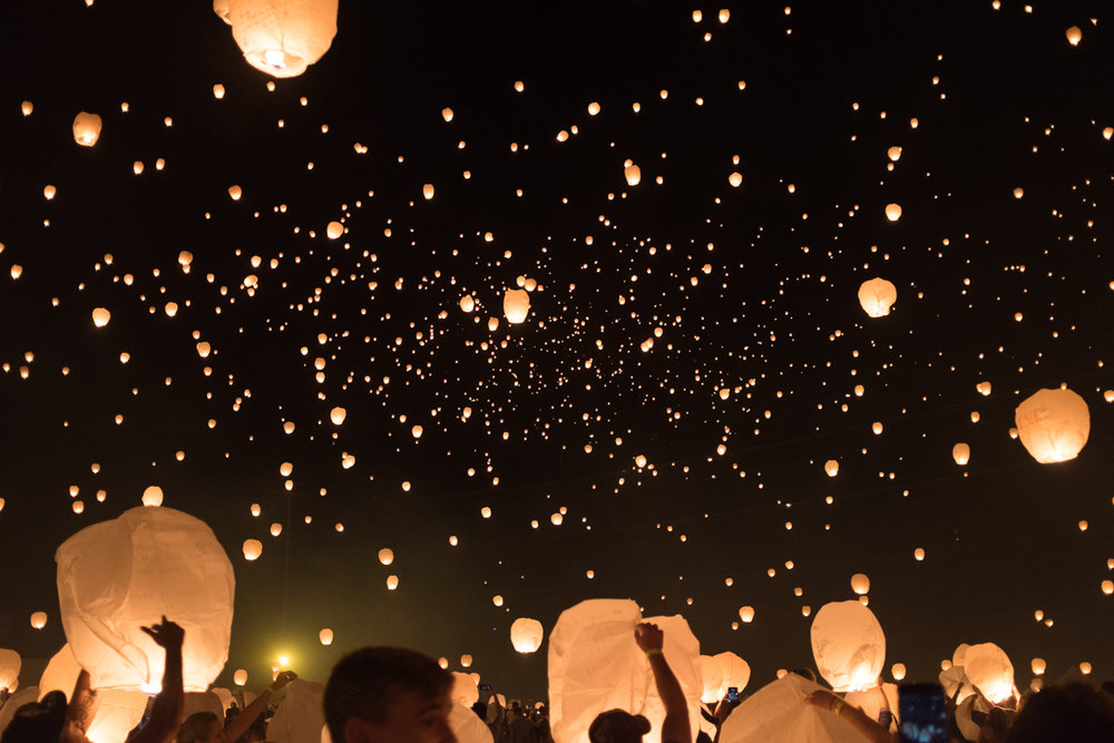 Family date at the Lantern Fest. | The Whitefeather Journal