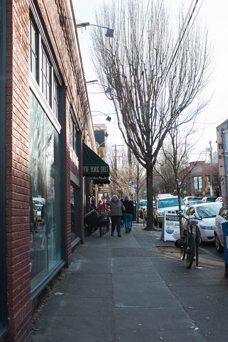 Portland in December   The Whitefeather Journal