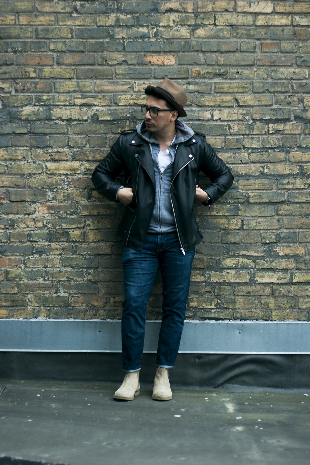 Style A Leather Jacket 3 Ways Men S Style Guide I Am Mr Martinez