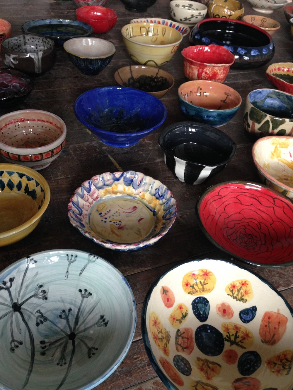 JOIN USat Pioneer Courthouse  Square on September 23, 2018 - Celebrate with us at Pioneer Courthouse Square on September 23, 2018 and meet the many participants, sponsors, and volunteers!The hand-painted bowls will be available for sale, and we will contribute all  proceeds to house fellow citizens. There will be music, poetry, and opportunities to learn more through community liaisons who will highlight practical considerations that may help build genuine connections between diverse communities.