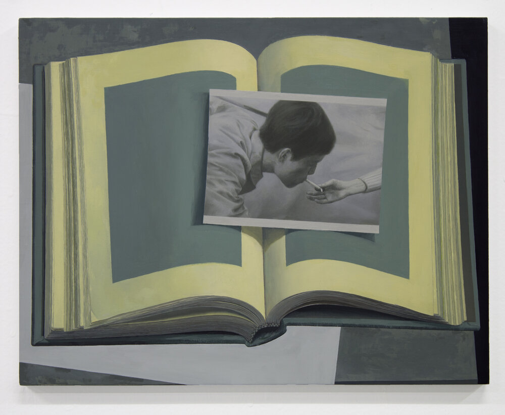 untitled (book and photograph)