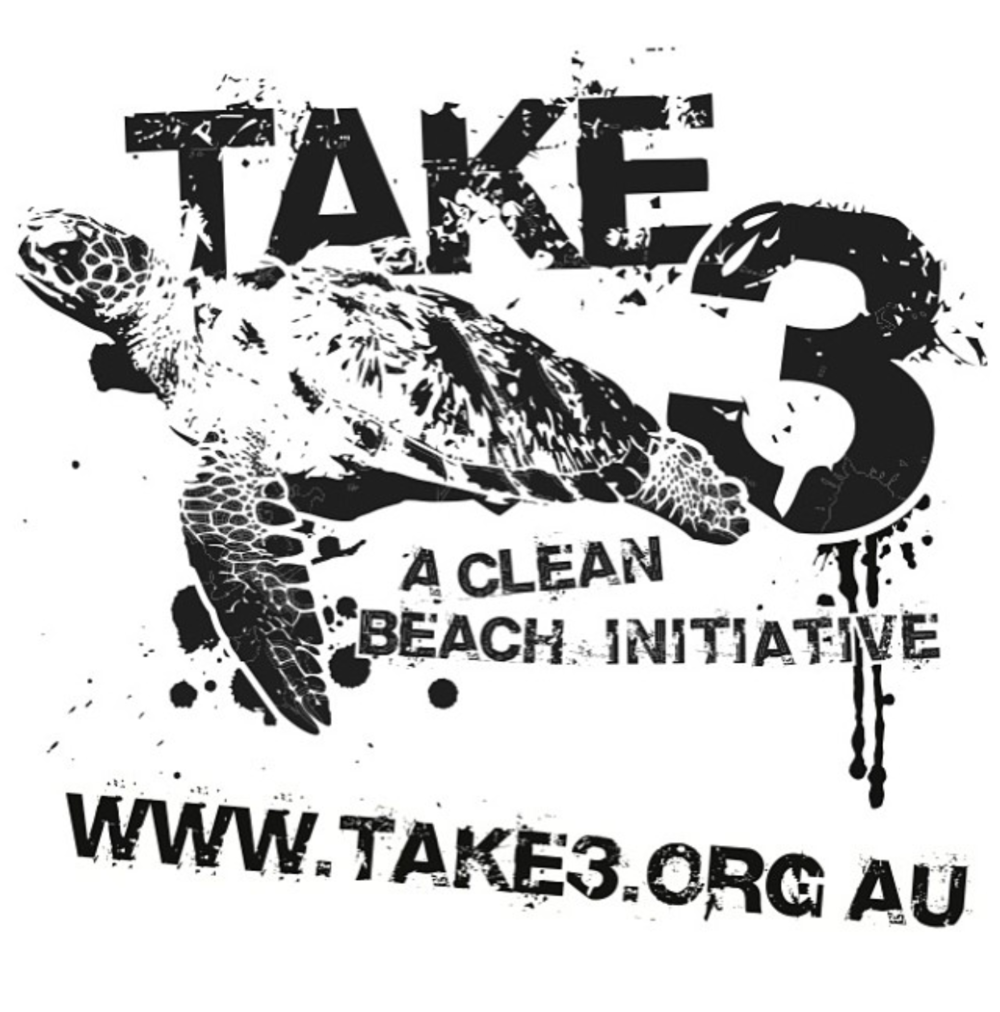 Take 3 For The Sea - Take 3 is an Australian not for profit organisation which is committed to reducing plastic pollution and promoting the transition to a circular economy through education and participation.Their message is simple. Take 3 pieces of rubbish with you when you leave the beach, waterway, or anywhere special, and you've made a difference.
