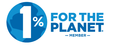 1% For The Planet - We have committed 1% of our sales revenue to 1% For The Planet and approved environmentally focused non profit partners.1% For The Planet is a global network of businesses, non profits and individuals working together for a healthy planet.