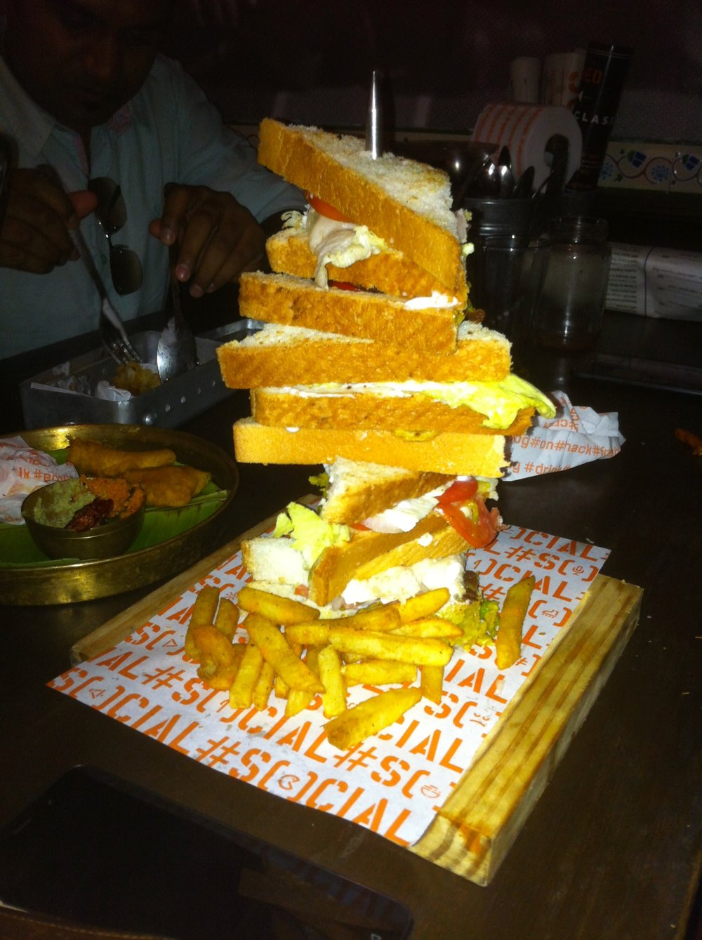 The Mile High Club Veg | Social | Phoenix Market city | Bangalore | PritishSocial | Food Blogger