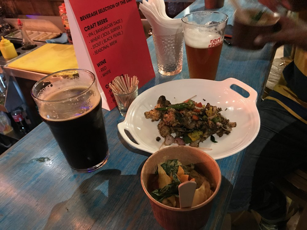 Craft Beer and Dinner | Microbrewery | Red Rhino Launch Party | Bengaluru | PritishSocial | Food Blogger