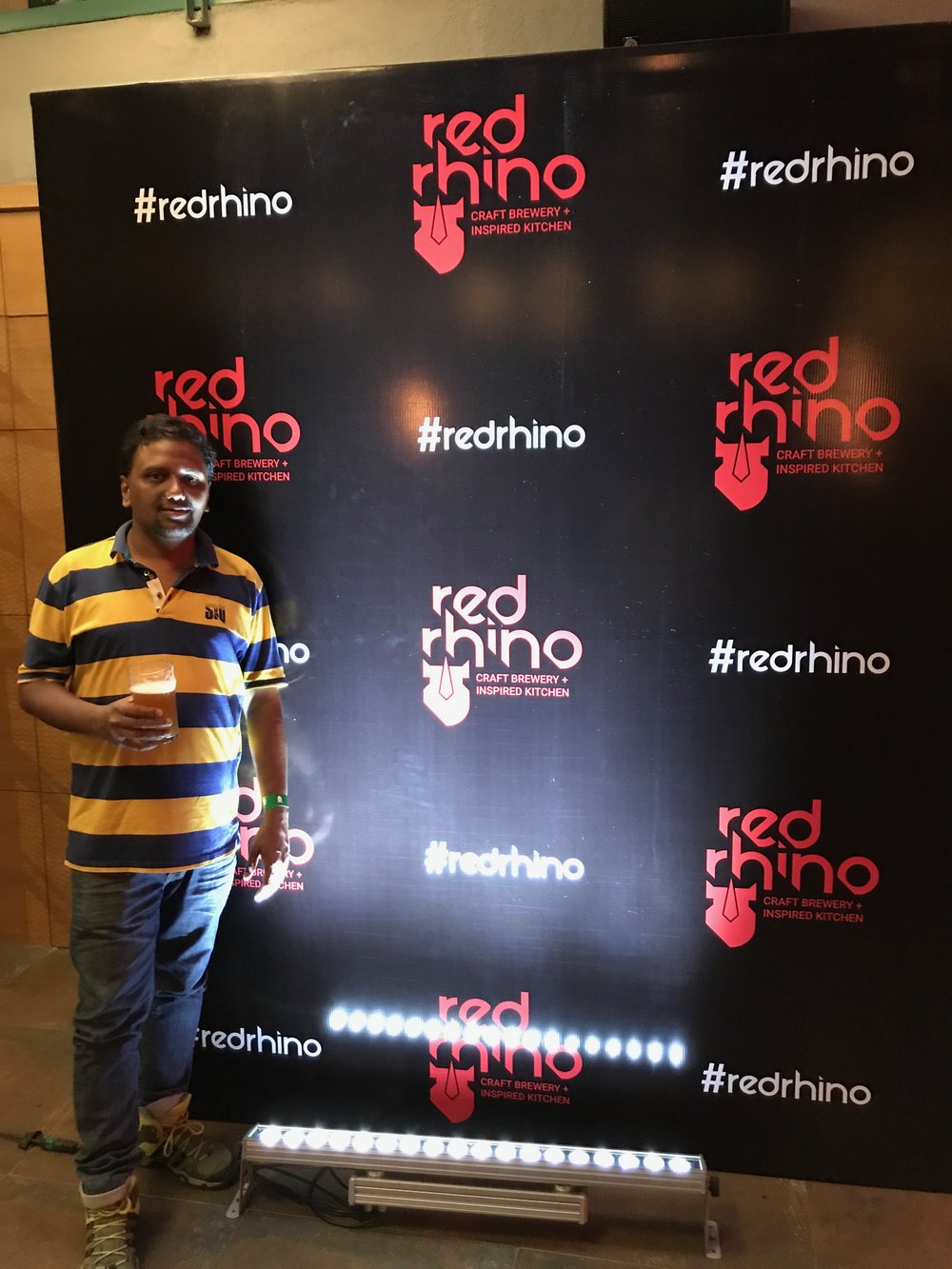 Launch Party Microbrewery | Red Rhino | Bengaluru | PritishSocial | Food Blogger