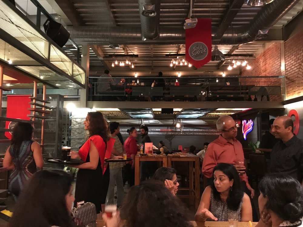 Microbrewery | Red Rhino | Bangalore | PritishSocial | Food Blogger