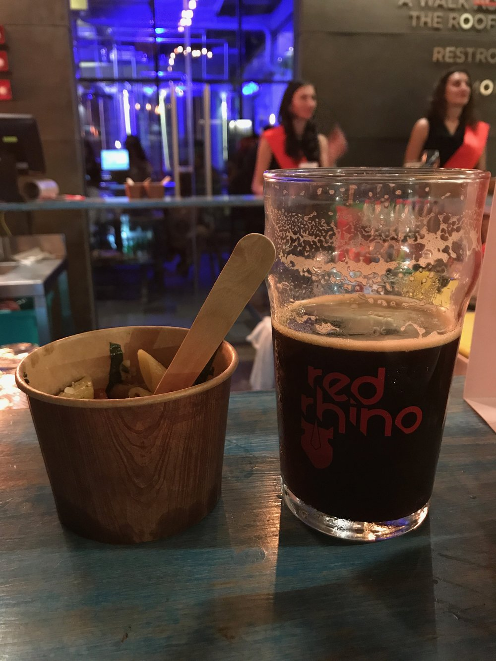 Microbrewery | Red Rhino | Stout Beer and Thai Noodles Bengaluru | PritishSocial | Food Blogger