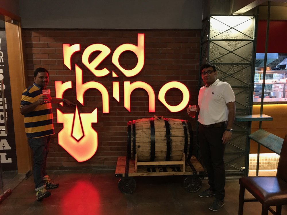 Portrait | Launch Party Microbrewery | Red Rhino | Bengaluru | PritishSocial | Food Blogger