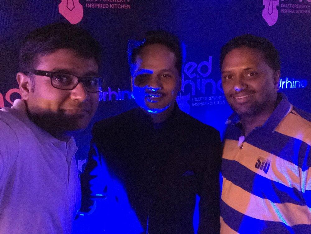Red Rhino Bengaluru | Chef Abhijit Saha | Hrish Thota | PritishSocial | Food Blogger